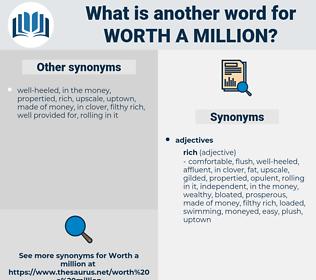 worth a million, synonym worth a million, another word for worth a million, words like worth a million, thesaurus worth a million