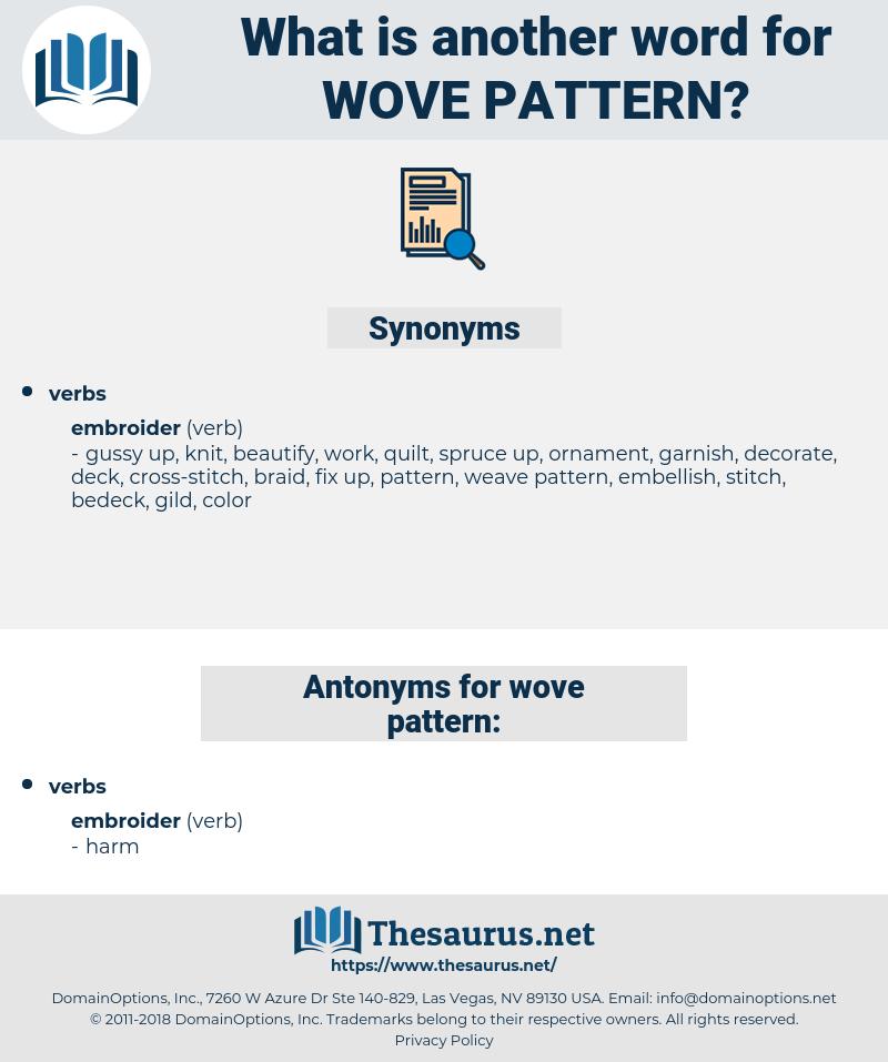 wove pattern, synonym wove pattern, another word for wove pattern, words like wove pattern, thesaurus wove pattern