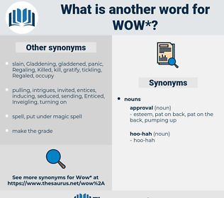 wow, synonym wow, another word for wow, words like wow, thesaurus wow