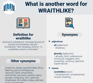 wraithlike, synonym wraithlike, another word for wraithlike, words like wraithlike, thesaurus wraithlike
