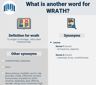wrath, synonym wrath, another word for wrath, words like wrath, thesaurus wrath