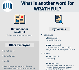 wrathful, synonym wrathful, another word for wrathful, words like wrathful, thesaurus wrathful