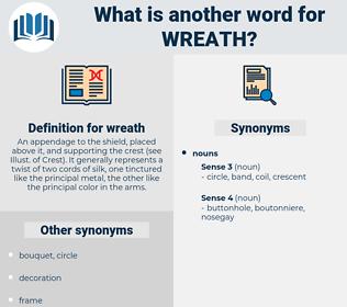 wreath, synonym wreath, another word for wreath, words like wreath, thesaurus wreath