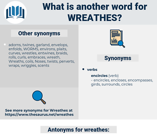 wreathes, synonym wreathes, another word for wreathes, words like wreathes, thesaurus wreathes