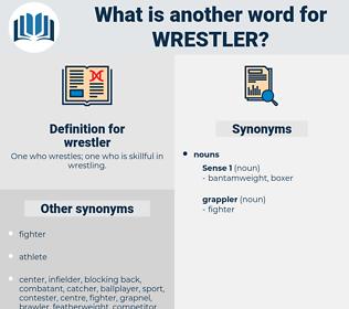 wrestler, synonym wrestler, another word for wrestler, words like wrestler, thesaurus wrestler