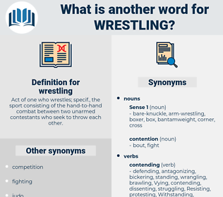 wrestling, synonym wrestling, another word for wrestling, words like wrestling, thesaurus wrestling