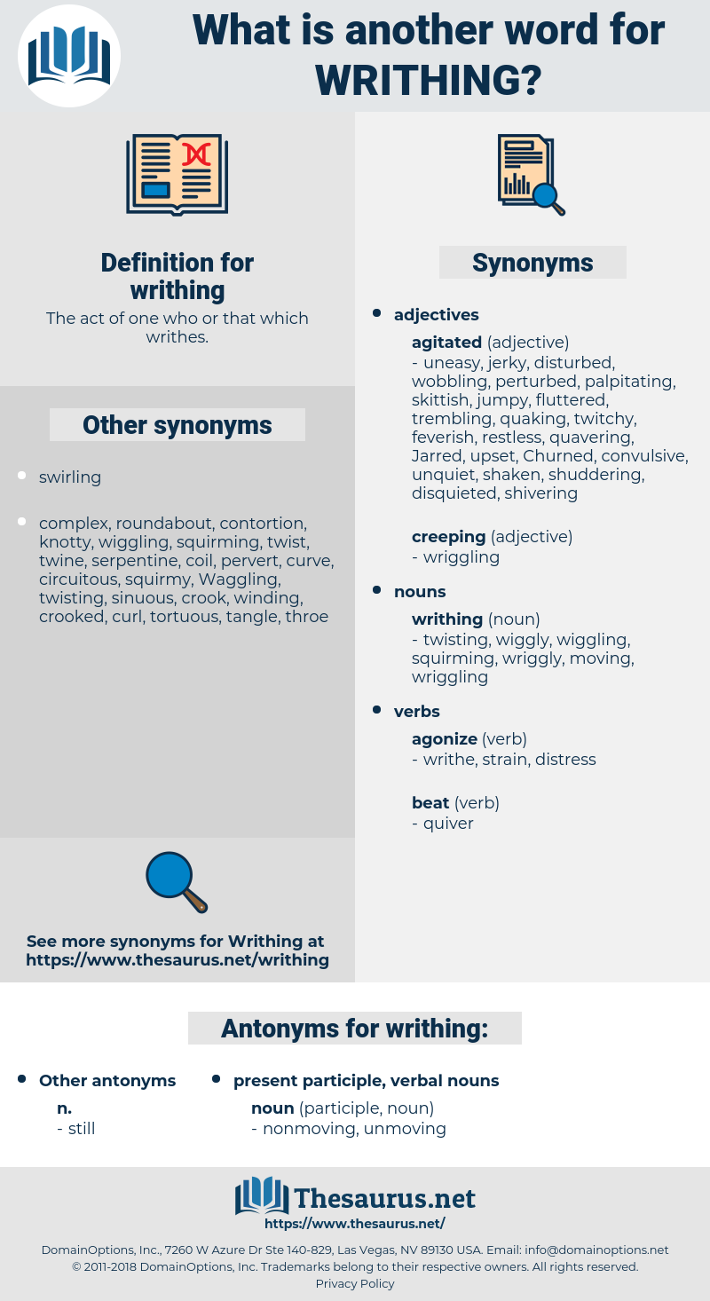 writhing, synonym writhing, another word for writhing, words like writhing, thesaurus writhing