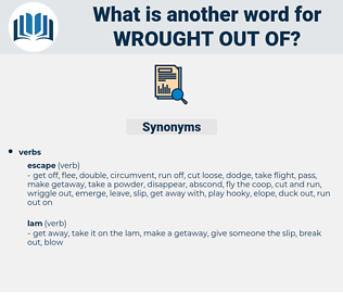 wrought out of, synonym wrought out of, another word for wrought out of, words like wrought out of, thesaurus wrought out of