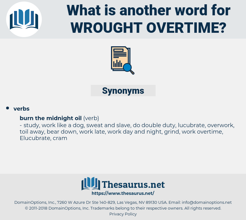 wrought overtime, synonym wrought overtime, another word for wrought overtime, words like wrought overtime, thesaurus wrought overtime