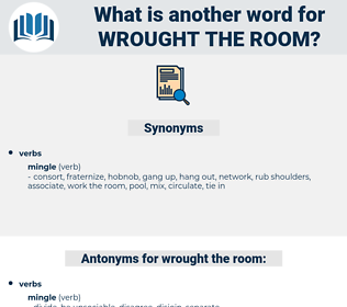 wrought the room, synonym wrought the room, another word for wrought the room, words like wrought the room, thesaurus wrought the room