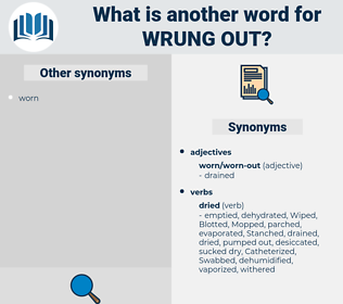 wrung out, synonym wrung out, another word for wrung out, words like wrung out, thesaurus wrung out