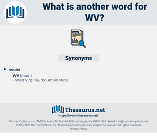 wv, synonym wv, another word for wv, words like wv, thesaurus wv
