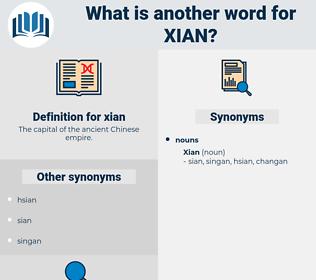 xian, synonym xian, another word for xian, words like xian, thesaurus xian