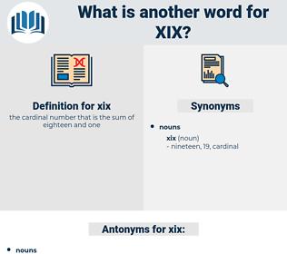 xix, synonym xix, another word for xix, words like xix, thesaurus xix