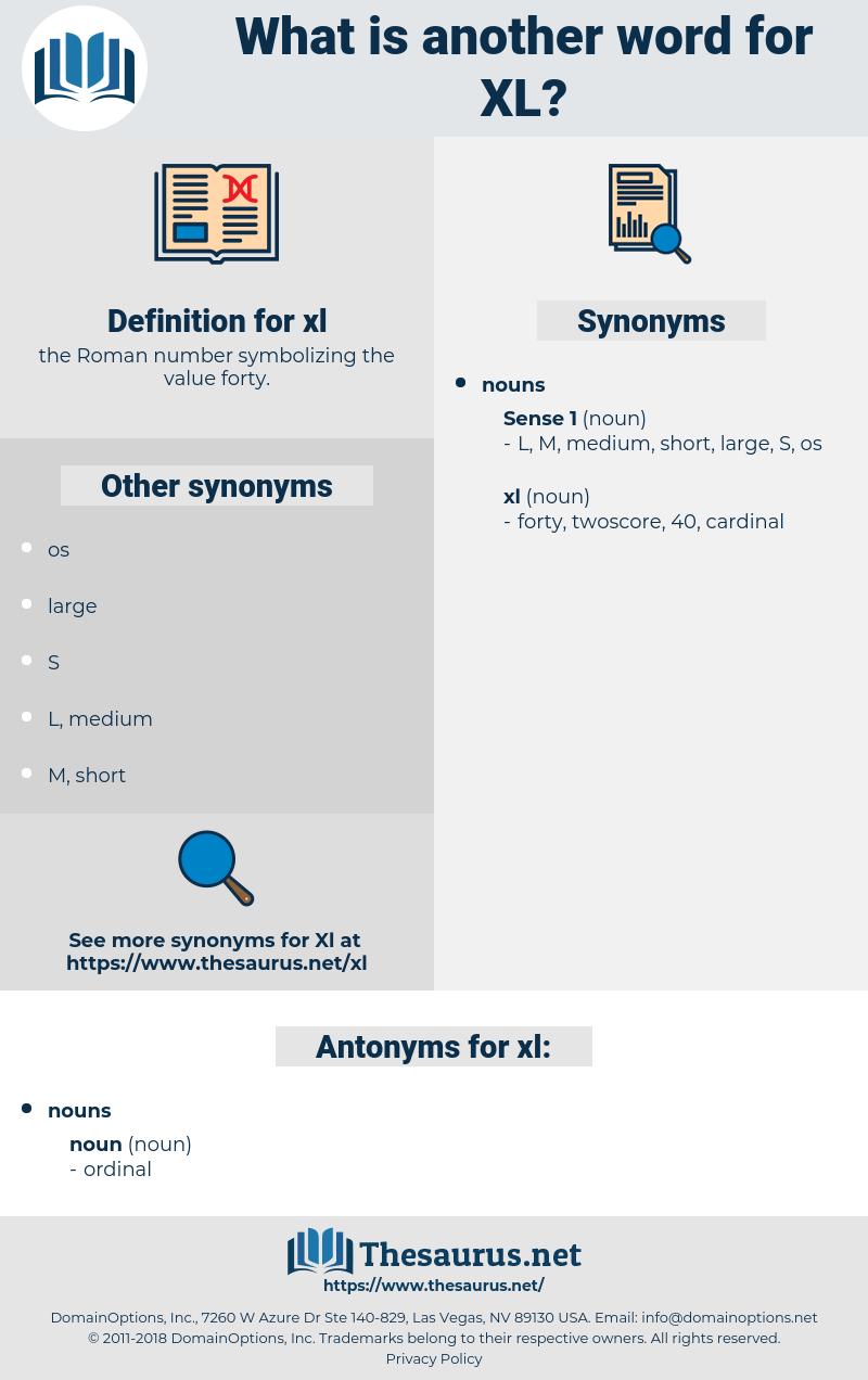 xl, synonym xl, another word for xl, words like xl, thesaurus xl