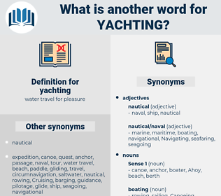 yachting, synonym yachting, another word for yachting, words like yachting, thesaurus yachting