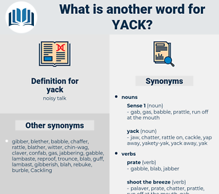 yack, synonym yack, another word for yack, words like yack, thesaurus yack