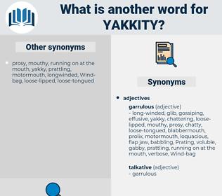yakkity, synonym yakkity, another word for yakkity, words like yakkity, thesaurus yakkity