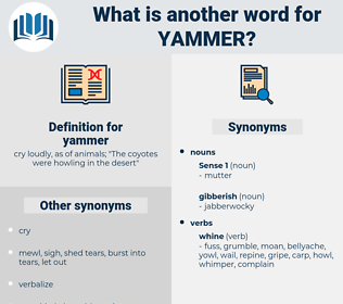 yammer, synonym yammer, another word for yammer, words like yammer, thesaurus yammer