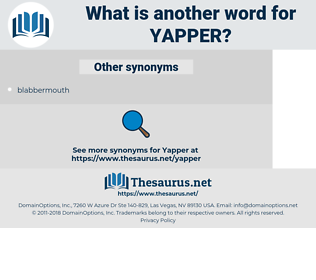 yapper, synonym yapper, another word for yapper, words like yapper, thesaurus yapper