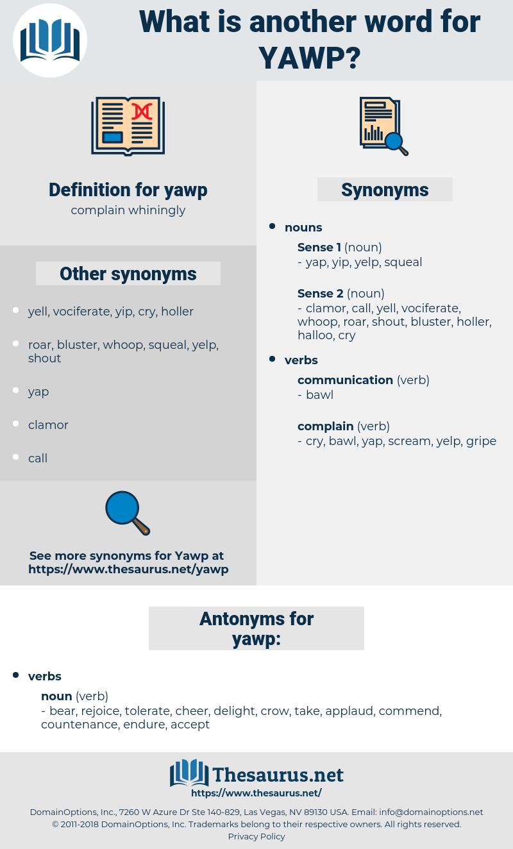 yawp, synonym yawp, another word for yawp, words like yawp, thesaurus yawp