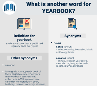 yearbook, synonym yearbook, another word for yearbook, words like yearbook, thesaurus yearbook