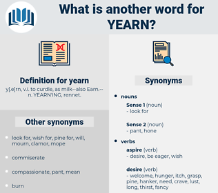 yearn, synonym yearn, another word for yearn, words like yearn, thesaurus yearn