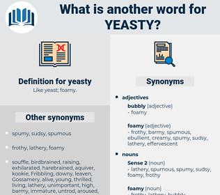 yeasty, synonym yeasty, another word for yeasty, words like yeasty, thesaurus yeasty