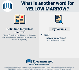 yellow marrow, synonym yellow marrow, another word for yellow marrow, words like yellow marrow, thesaurus yellow marrow