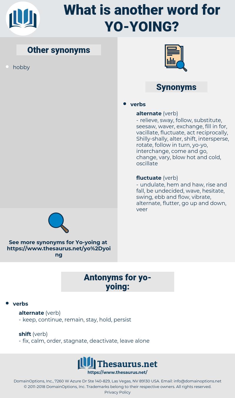 yo-yoing, synonym yo-yoing, another word for yo-yoing, words like yo-yoing, thesaurus yo-yoing