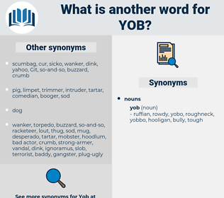 yob, synonym yob, another word for yob, words like yob, thesaurus yob
