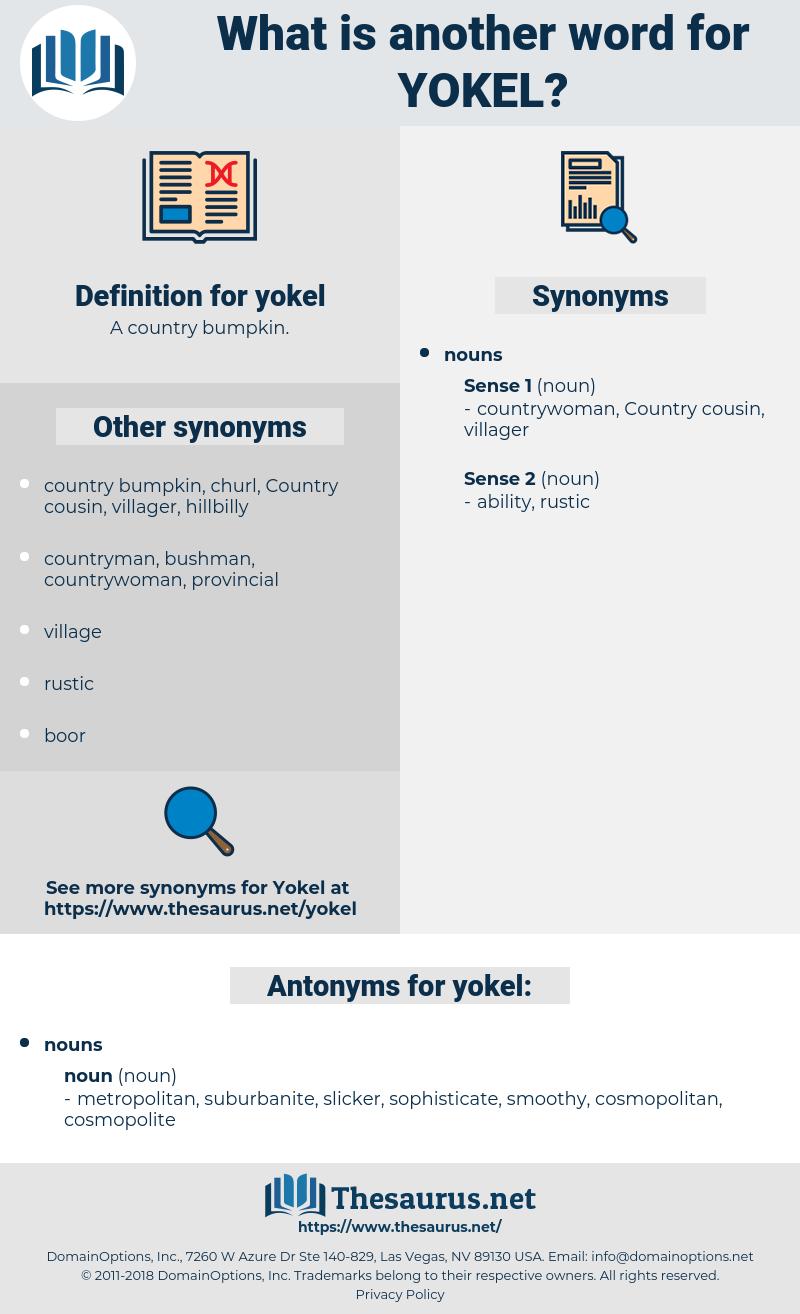 yokel, synonym yokel, another word for yokel, words like yokel, thesaurus yokel