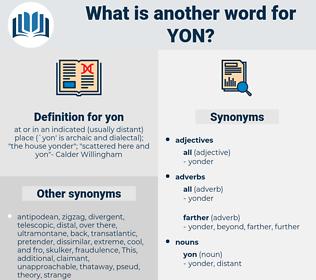 yon, synonym yon, another word for yon, words like yon, thesaurus yon