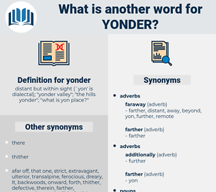 yonder, synonym yonder, another word for yonder, words like yonder, thesaurus yonder