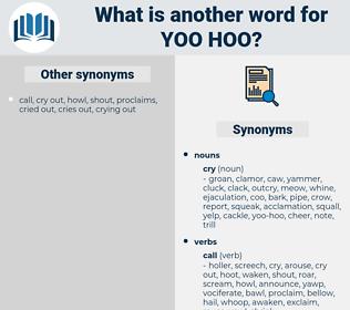 yoo-hoo, synonym yoo-hoo, another word for yoo-hoo, words like yoo-hoo, thesaurus yoo-hoo