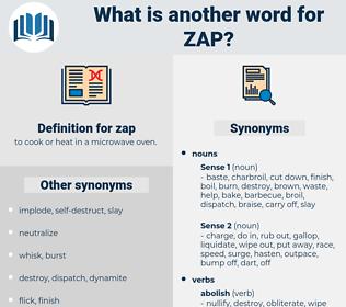 zap, synonym zap, another word for zap, words like zap, thesaurus zap