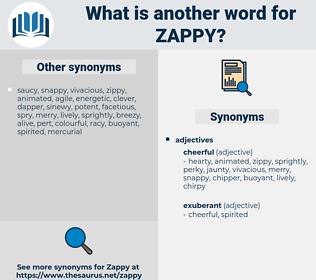 zappy, synonym zappy, another word for zappy, words like zappy, thesaurus zappy