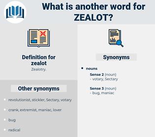 zealot, synonym zealot, another word for zealot, words like zealot, thesaurus zealot
