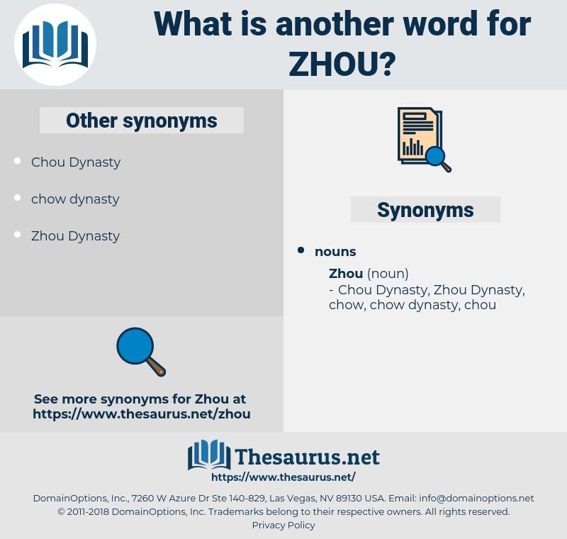 zhou, synonym zhou, another word for zhou, words like zhou, thesaurus zhou