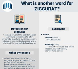 ziggurat, synonym ziggurat, another word for ziggurat, words like ziggurat, thesaurus ziggurat