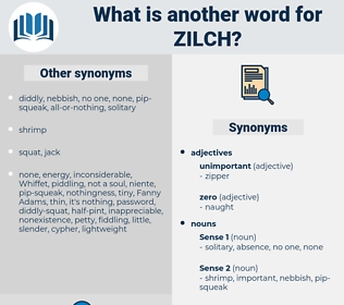 zilch, synonym zilch, another word for zilch, words like zilch, thesaurus zilch
