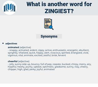 zingiest, synonym zingiest, another word for zingiest, words like zingiest, thesaurus zingiest
