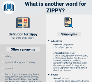 zippy, synonym zippy, another word for zippy, words like zippy, thesaurus zippy