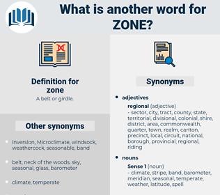 zone, synonym zone, another word for zone, words like zone, thesaurus zone