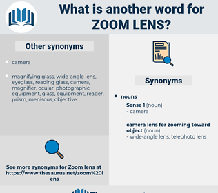 zoom lens, synonym zoom lens, another word for zoom lens, words like zoom lens, thesaurus zoom lens