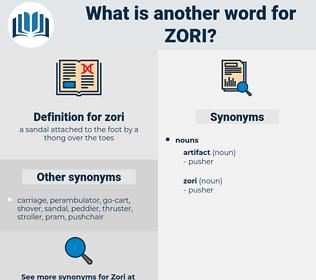 zori, synonym zori, another word for zori, words like zori, thesaurus zori